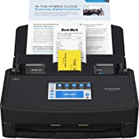 $399 » Fujitsu ScanSnap iX1600 Versatile Cloud Enabled Document Scanner for Mac and PC, Black
