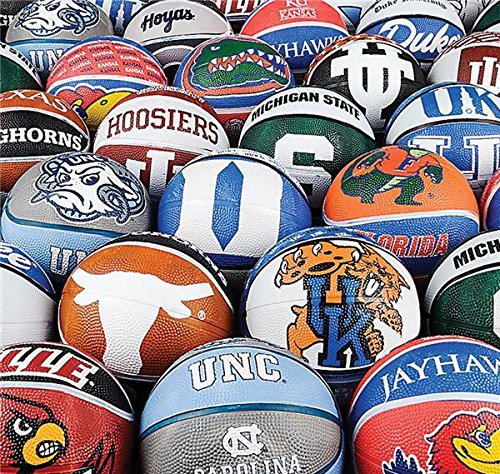 100 PC COLLEGE MICRO BASKETBALLS, Case of 3 by DollarItemDirect (Image #1)