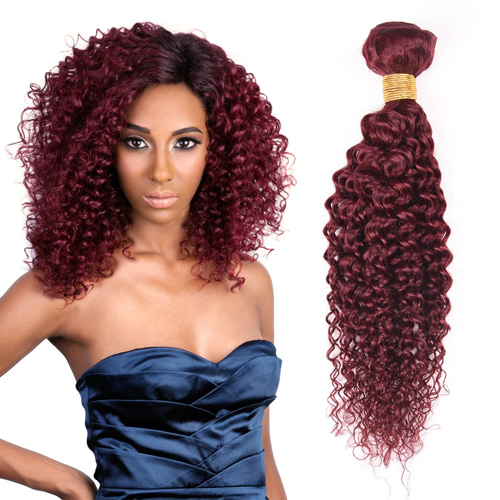 Amazon Top Hair Peruvian Curly Hair Weft 100 Human Curly