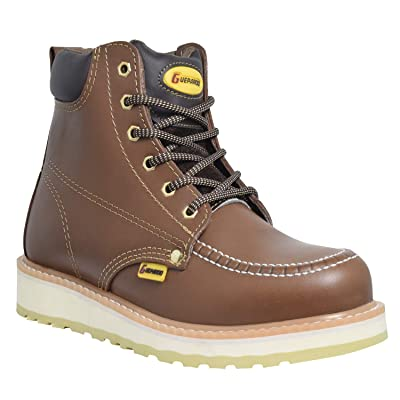 Guepardo Safety Footwear Model GH5M25 (Modern Work Boots): Shoes