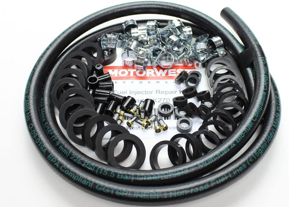 MotorWest Performance K270 Jaguar Fuel Injector Repair Kit