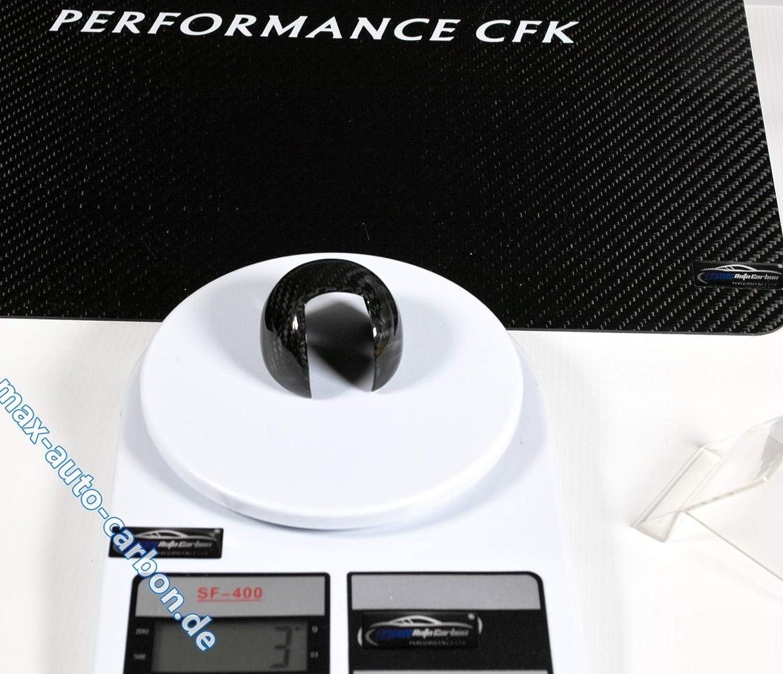 MAX AUTO CARBON Voll Carbon Echt Carbon Schaltknauf Schalthebel Knauf passend f/ür A1 A3 S3 TT TTS
