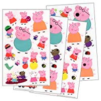 Peppa Pig adesivi 4fogli