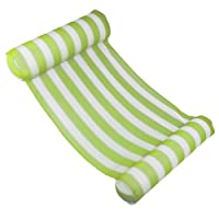 PROKTH Swimming Pool Beach Floating Water Hammock Lounge Chair Within100KG, Float Hammock Inflatable Raft Bed Swimming Pool Air Lightweight Floating Chair Compact Portable Swimming Pool Mat for Adults Kids with A Small Pump