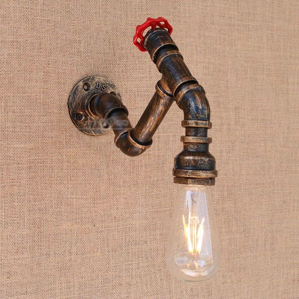 IG Wohnmöbel Retro Wandleuchte Wasserleitung Wandleuchte Industrielle Restaurant Wohnzimmer Schlafzimmer Studie Kreative Nachttischlampe