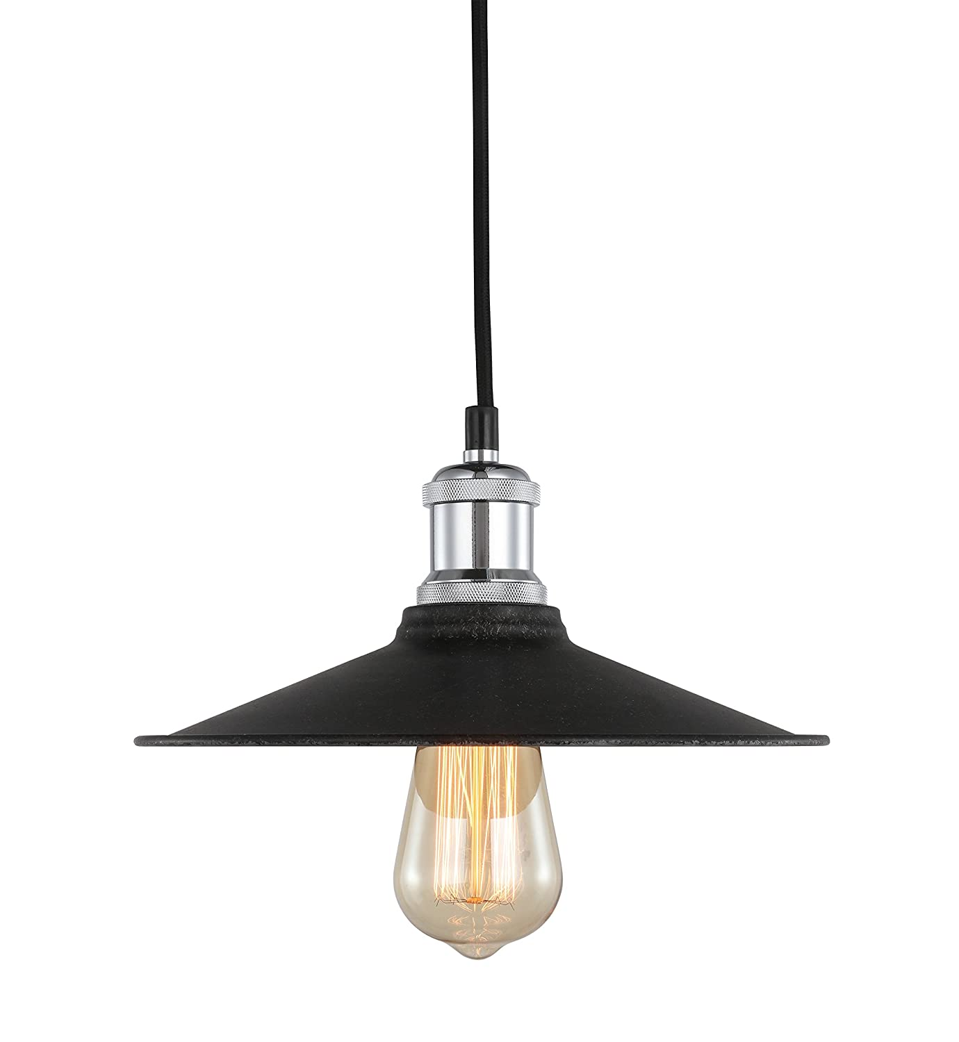 Amazon.com: Woodbridge 18323CHRWL-SM410CG Lighting - Lámpara ...