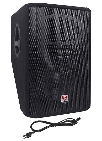 Rockville RSM12A 12u0026quot; 1000 Watt 2 Way Powered Active Stage Floor Monitor  Speaker