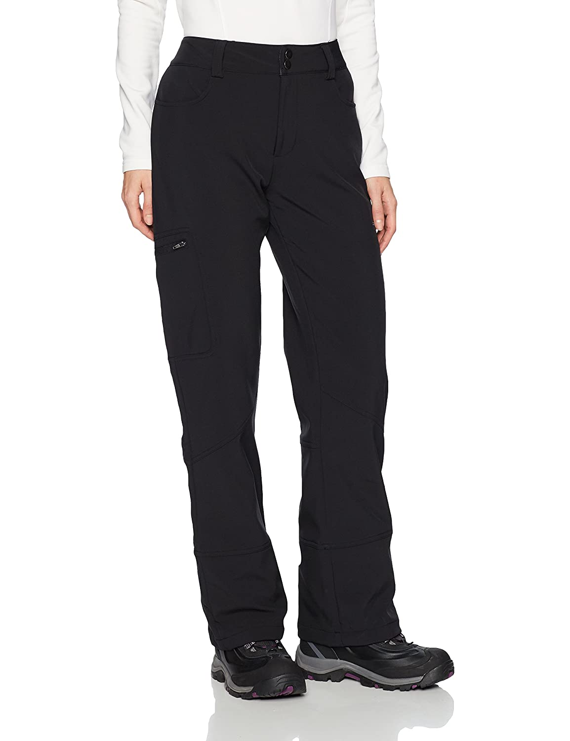 Arctix Women's Sarah Fleece Lined Softshell Ski Snow Pants