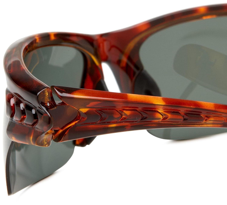 Amazon.com: Fila SF013PC30 Polarized Sport Wrap Sunglasses,Red ...