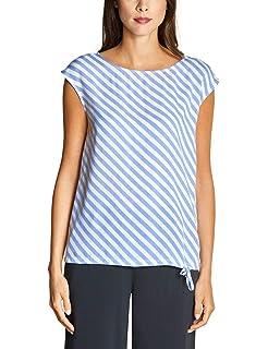 Street One Streifen-Shirt Vivana in Deep Blue