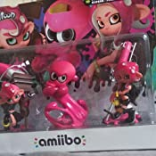 Nintendo - Amiibo Octoling Chico, Chica, Pulpo [Pack de 3]: Amazon ...