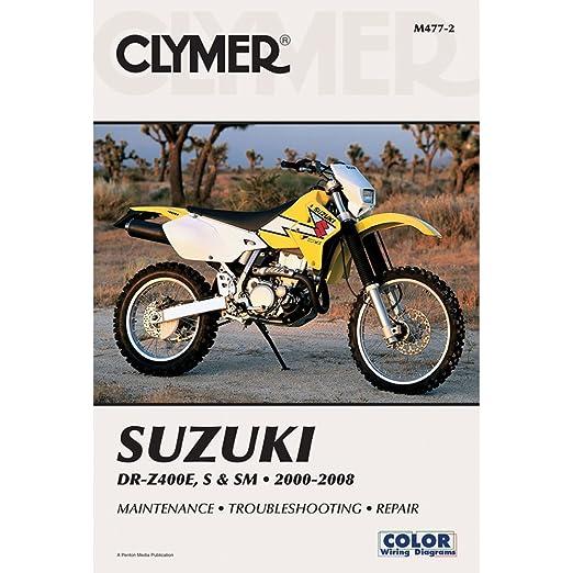 amazon com 96 00 suzuki rm250 clymer service manual suzuki rh amazon com 1999 suzuki rm250 owners manual 1974 Suzuki RM125