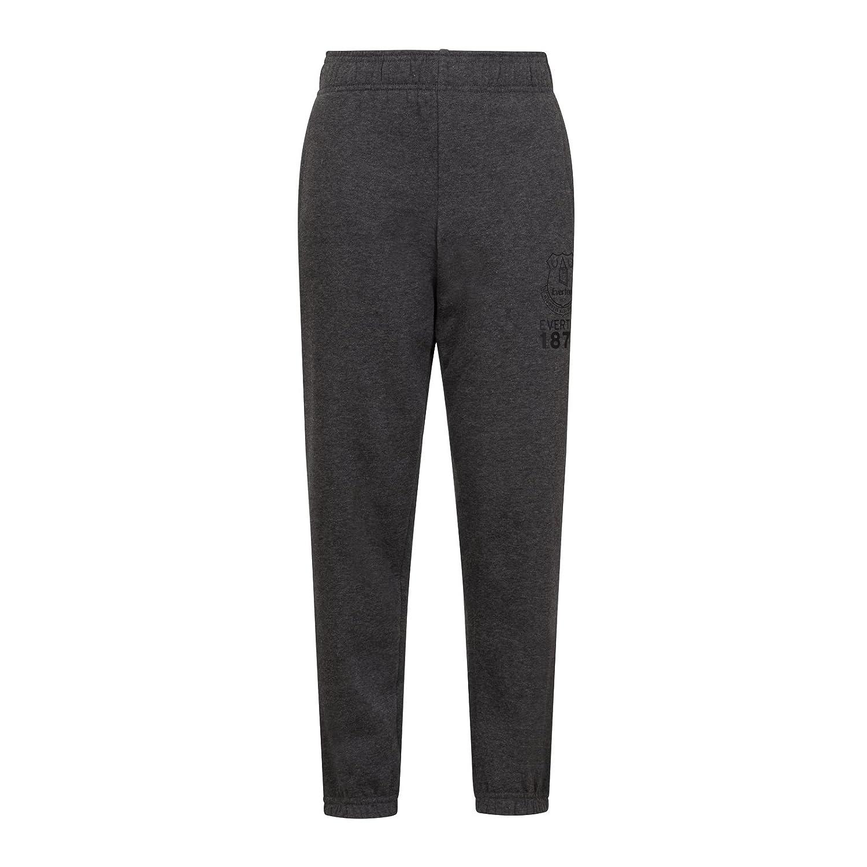 Everton FC Official Football Gift Boys Slim Fit Fleece Joggers Jog Pants