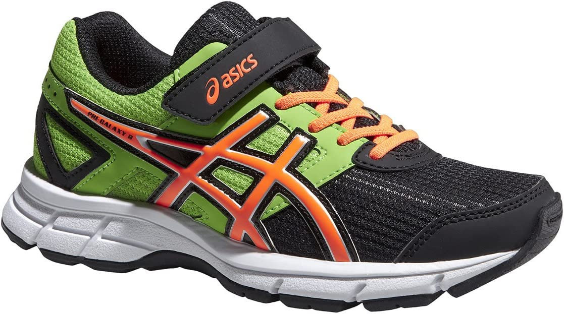 Asics PRE Galaxy 8 PS Black/Flash Naranja/Flash Green, Color, Talla 30: Amazon.es: Zapatos y complementos