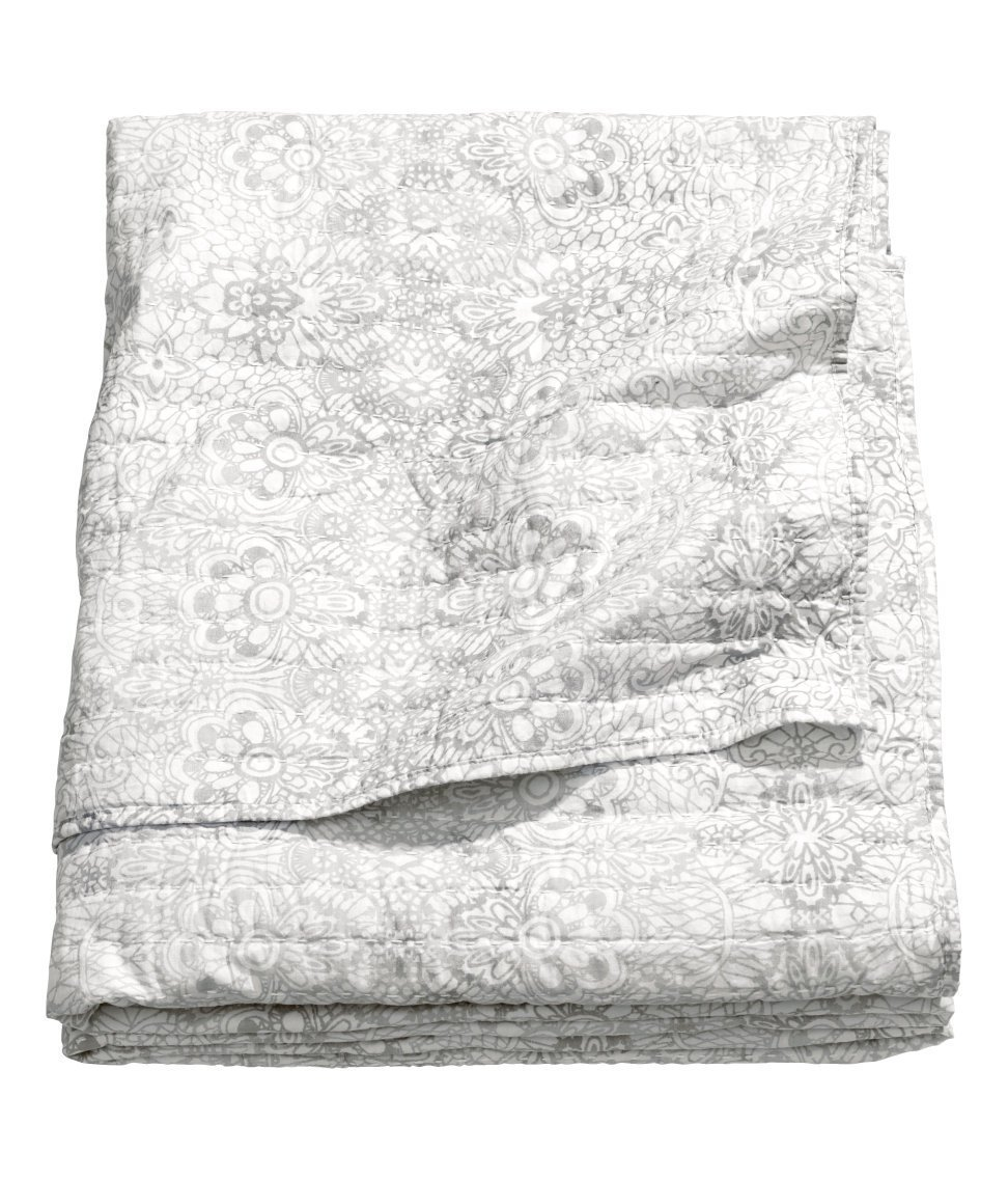 Cottage Country Bedding Quilted Bedspread French Vintage