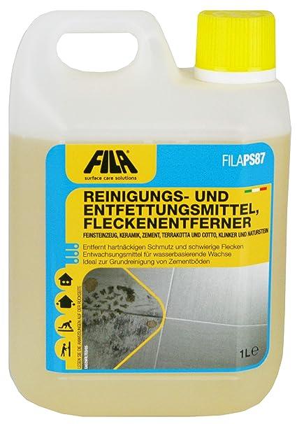 Fila ps87 quitamanchas, media y de limpieza, entfettung 1 L ...