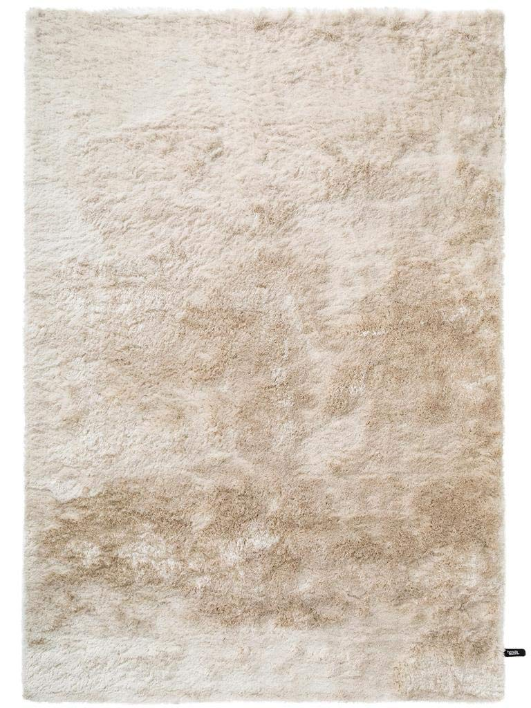 Benuta Shaggy Hochflor Teppich Whisper Beige 140x200 cm   Langflor Teppich für Schlafzimmer und Wohnzimmer