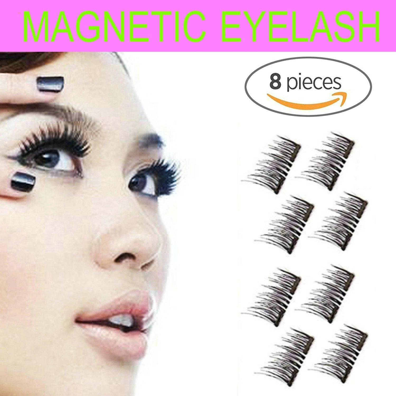 Amazon Magnetic Eyelashes Glue Free Premium Quality False