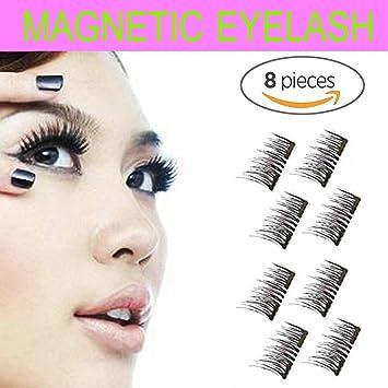 a9cf680f4e2 Magnetic Eyelashes Glue-free Premium Quality False Eyelashes Set for  Natural Look - Best Fake