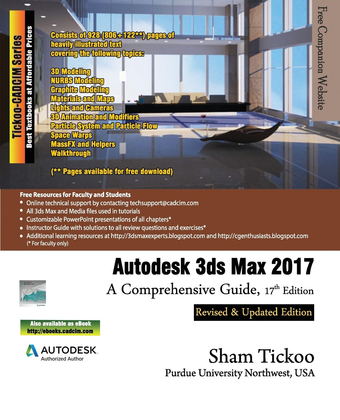 autodesk 3ds max 2017 a comprehensive guide prof sham tickoo rh amazon com 3DS XL Autodesk Maya
