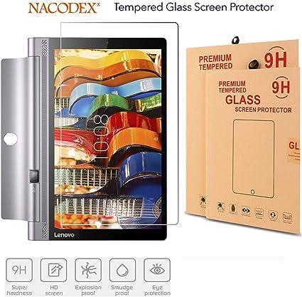 Yoga Tab 3 10.1 Glass,Nacodex HD Tempered Glass Screen Protector for Lenovo Yoga Tab 3 10.1 inch (for Lenovo Yoga Tab 3 10 inch)