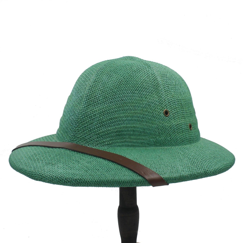 HYF Cappello da Sole a Tesa Larga Cappello da Sole a Tinta Unita per Cappelli da Paglia per Cappelli da Guerra del Vietnam (Colore : 4, Dimensione : 56-59CM)