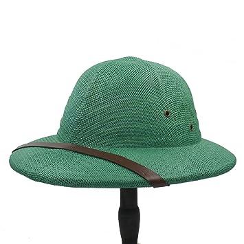AJZGF Casco de paja de Toquilla de la novedad Sombreros de Sun de Pith para los