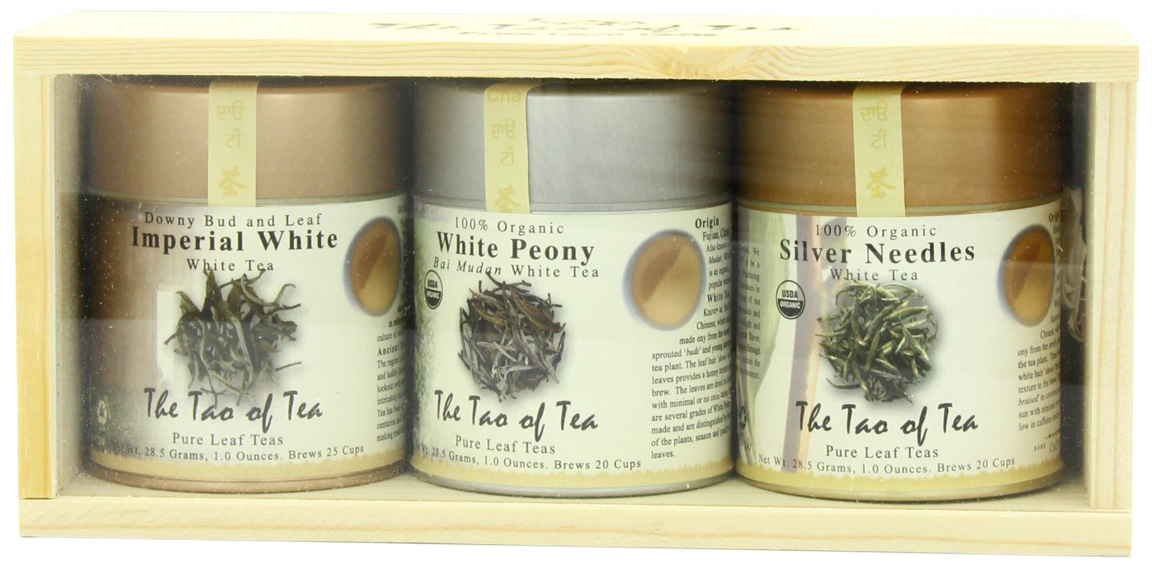 The Tao of Tea White Tea Sampler, 3-Count Box