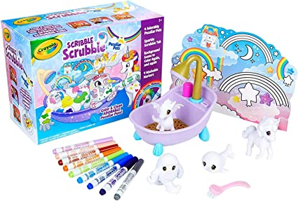 Crayola Scribble Scrubbie, Peculiar Pets, Gift for Kids