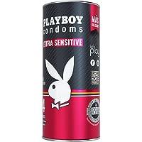 Playboy Condoms Extra Sensibles, Lata con 24 Preservativos