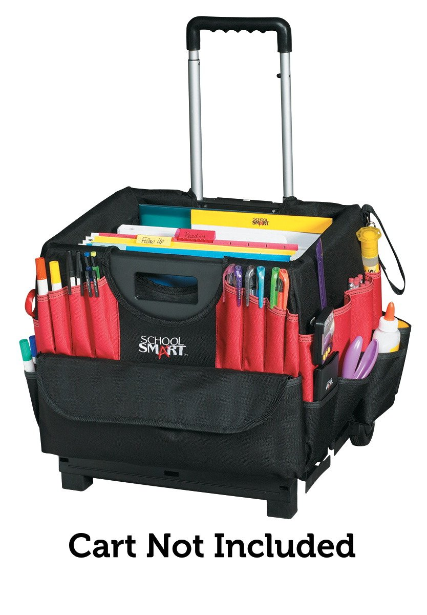 School Smart Large Caddy Organizer, 16 x 14 x 13-1/2 inches, Cart Not Included