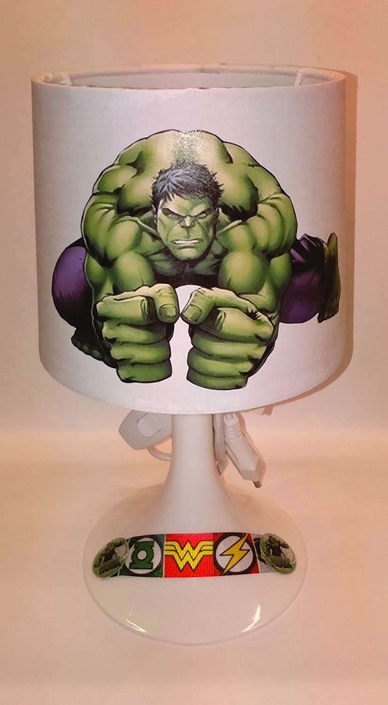 Chevet Hulk Avengers L'idée'all De Lampe Création D92IEH