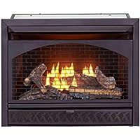 ProCom FBNSD28T Ventless Dual Fuel Firebox Insert, 29 in