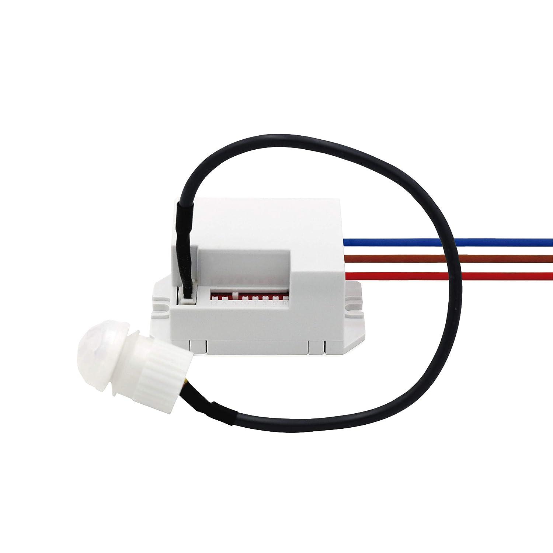 Popp Detector Movimiento PIR de Infrarrojos EMP Mini