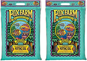 (2) FOXFARM FX14053 12 Quart Ocean Forest Garden Potting Soil Bags - 6.3-6.8 pH (Onе Paсk)
