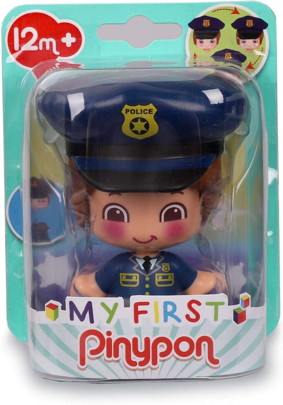 My First Pinypon. Figura Policía para niños y niñas de 1 a 3 años (Famosa 700016403)