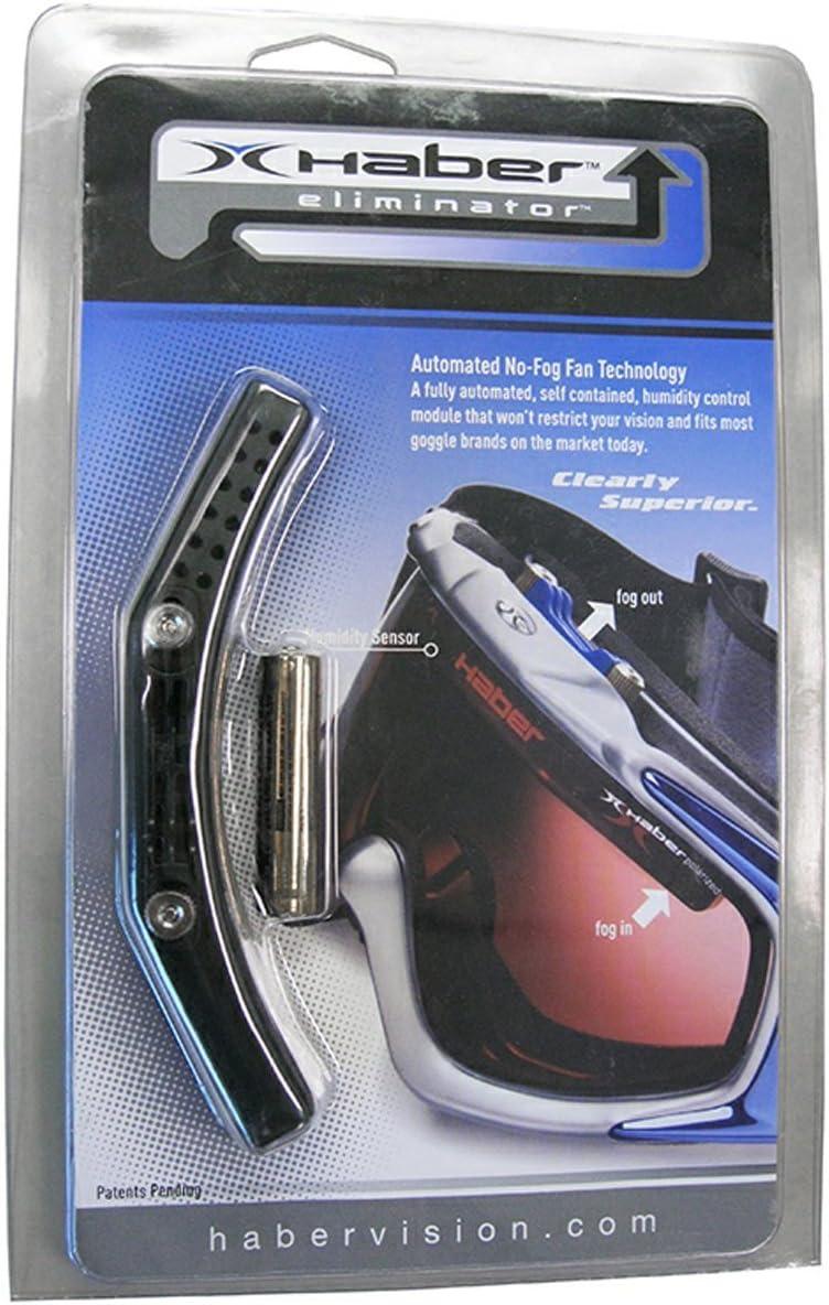 Haber Fog Eliminator Fan Goggles Accessories - Black/One Size
