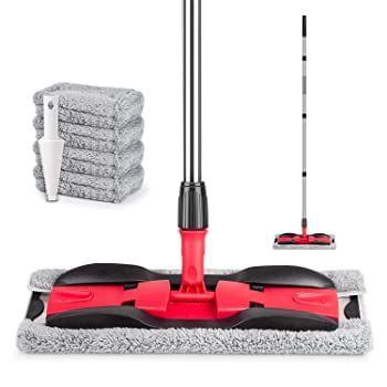 MEXERRIS Aluminum Microfiber Mop