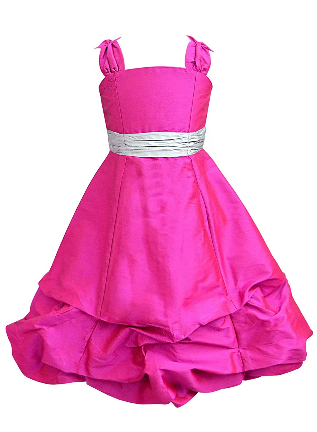A.T.U.N. All Things Uber Nice Baby Girls' Bubble Hem Maxi Dress