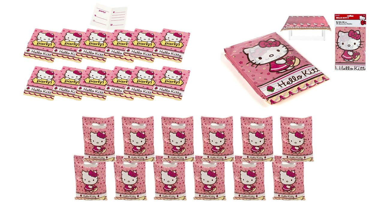 ALMACENESADAN 2432; Pack Fiesta y cumpleaños Hello Kitty ...
