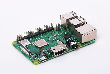 Raspberry Pi 3 Modelo B + Tarjeta 1 GB RAM Quad Core 64bit ...