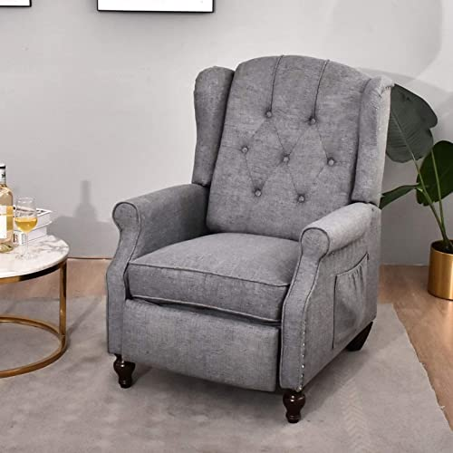 IPKIG Wingback Chair Recliner Armchair