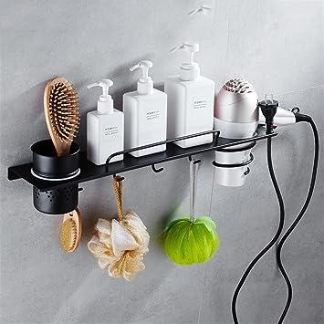 Acero Inoxidable 304 Toallas de baño WC estanterías metálicas para Definir el Tema, Construido en estantería 1: Amazon.es: Hogar