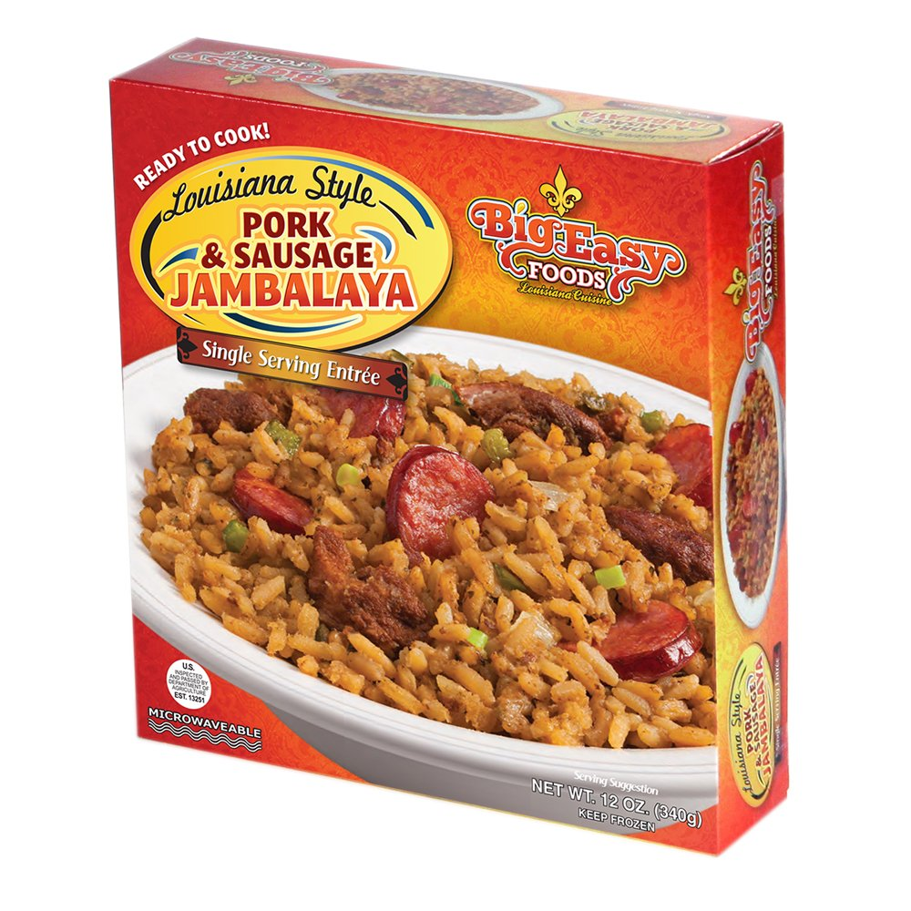 Big Easy Foods Pork Sausage Jambalaya (5 Pack)