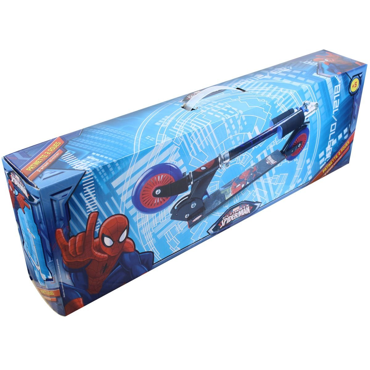 Ultimate Spiderman Scooter Patinete 2 ruedas Chico: Amazon ...