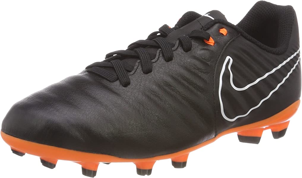 7d391c43dac7d Nike JR Legend 7 Academy FG- Black Orange 3