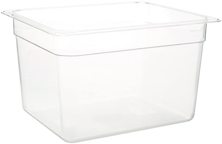 LIPAVI Sous Vide Container Model C10 3.0 Gallon (12 Quarts) 12.7 x 10.3 Inch - Matching L10 rack and tailored lids for many circulators sold separately