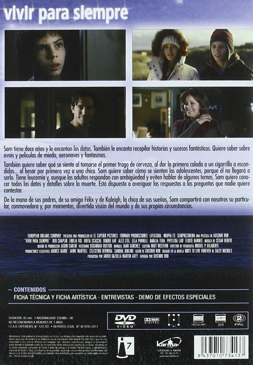 Vivir para siempre [DVD]: Amazon.es: Robbie Kay, Ben ...