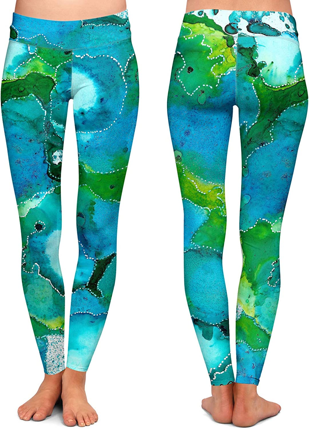 Athletic Yoga Leggings from DiaNoche Designs by Valerie Lorimer Falling in Love
