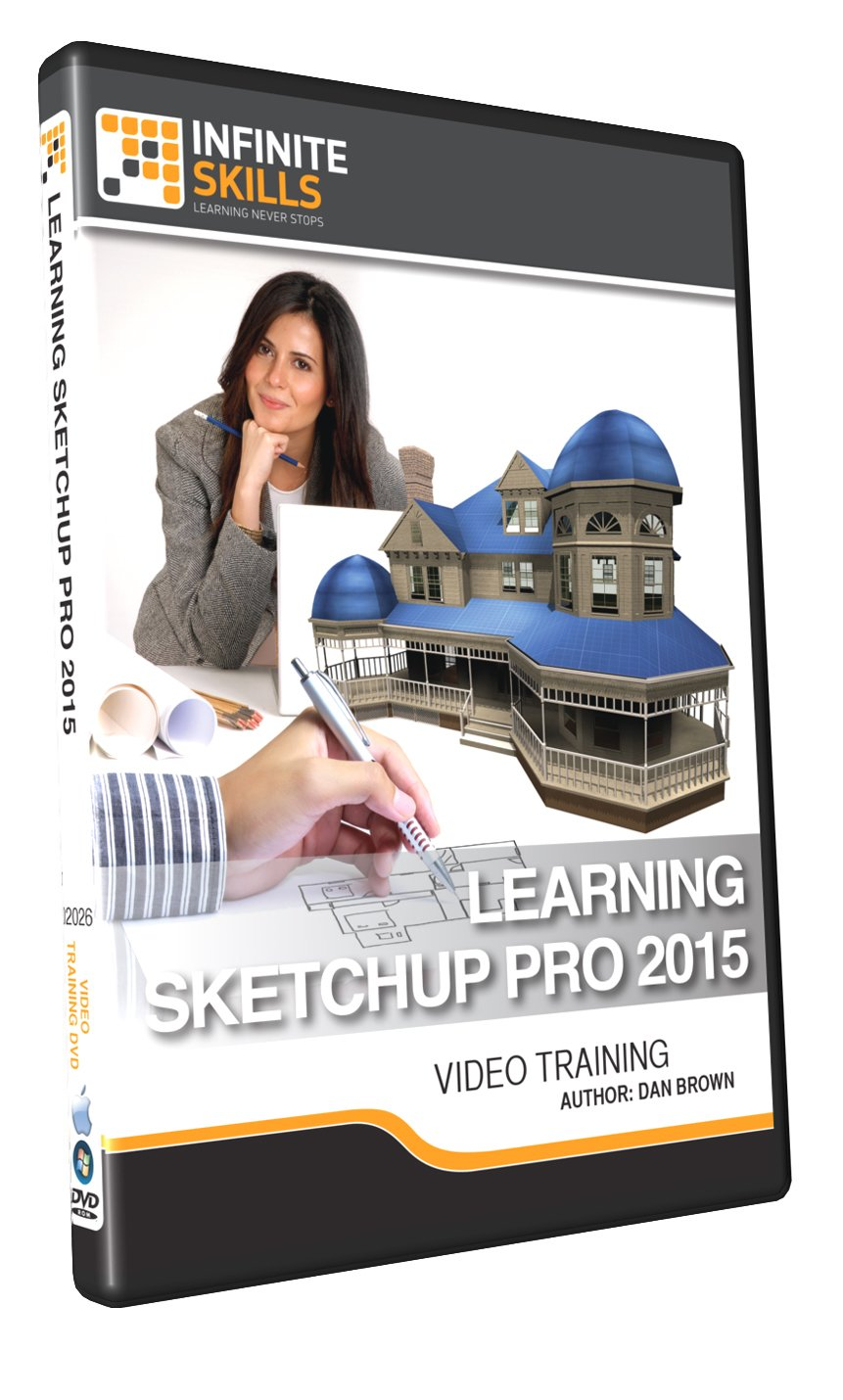 Learning Sketchup Pro 2015 - Training DVD
